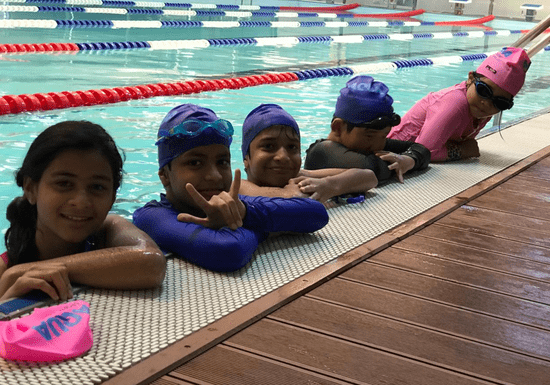 Group Swimming for Teens with a Male Instructor - Ages: 13-17