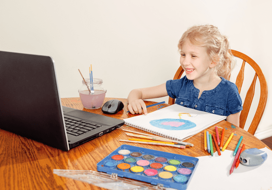 Online Class: Drawing & Painting for Kids - Ages: 8-15