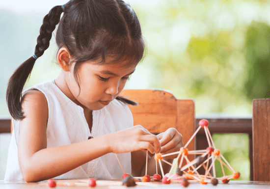 Building 3D Models of Molecules - Ages: 6-12