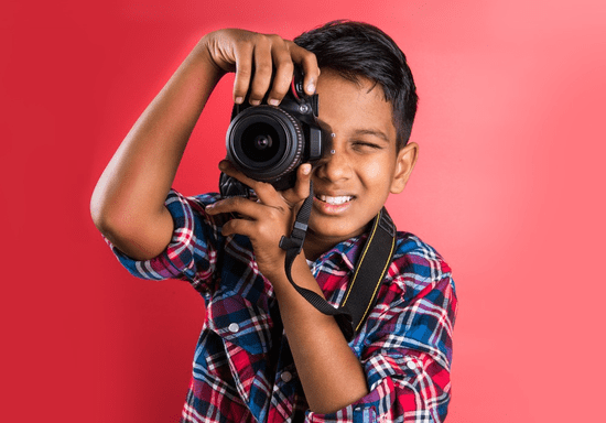 Photography 101 for Kids & Teens - Ages: 10-17