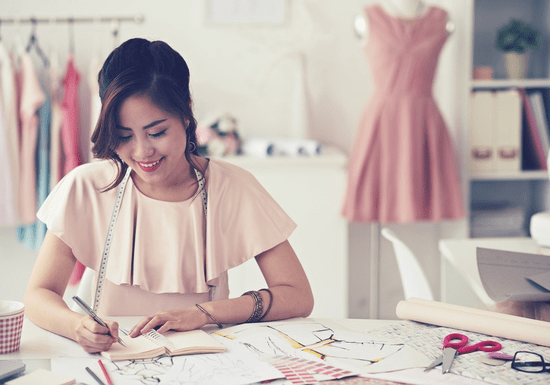 Online Class: Fashion Design for Teens - Ages: 12-15 (Full Course)