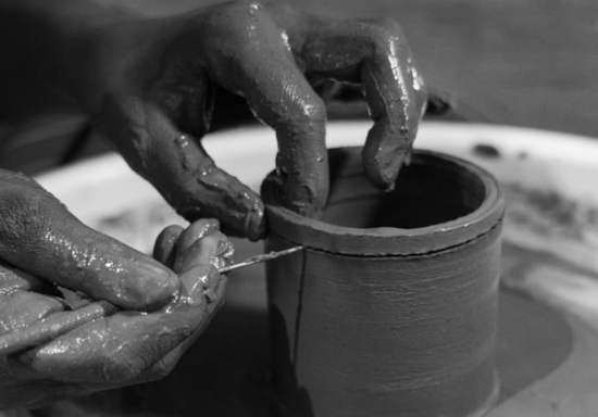 Complete Pottery Throwing on Wheel with Ceramic Clay Course