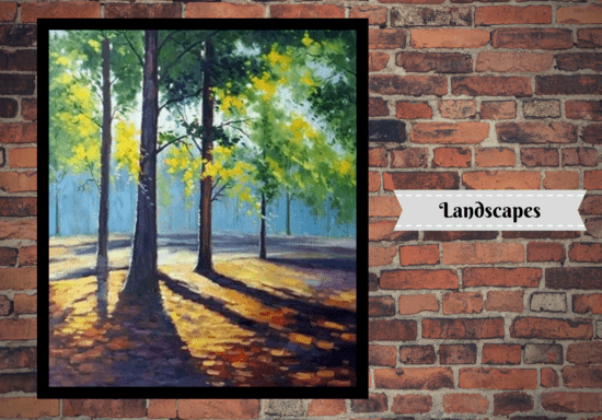 Painting Classes - Foundation Level - Learn 5 Different Art Styles