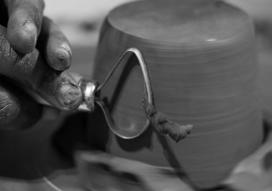 Intro to Pottery Throwing on Wheel with Ceramic Clay