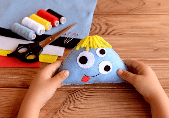 DIY Kids Stuffed Soft Toy (Ages: 10+)