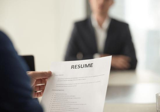 Resume & Candidate Development Training