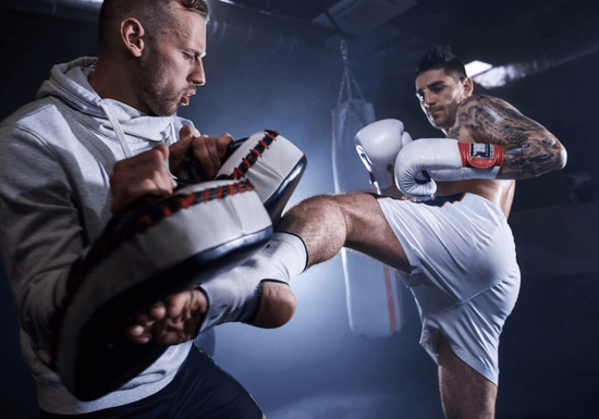 Kickboxing Training with a Private Coach