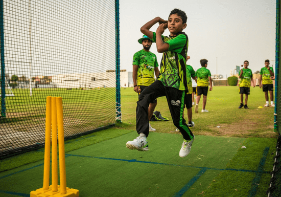 Group Cricket Classes - Ages: 4-11 (Deira)