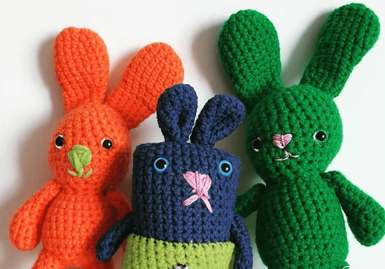 19 Beginner Amigurumi Patterns (Unbelievably Cute!) | AllFreeCrochet.com | 384x550