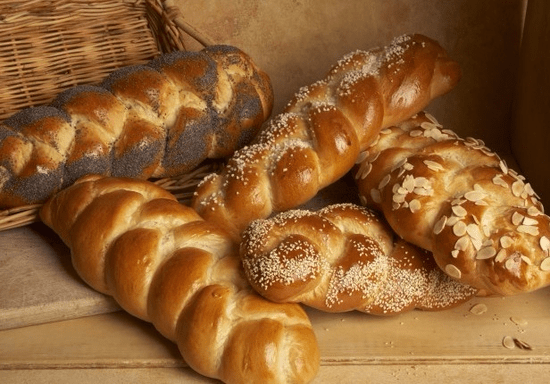 Breads: Muffins, Challah & Whole Grain