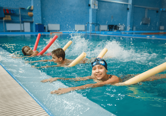 Group Swimming Lessons - Ages: 8-13
