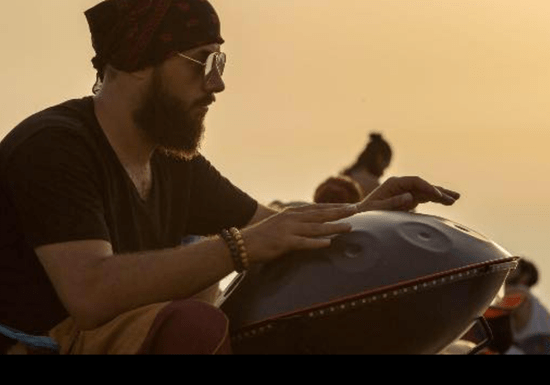 Private Handpan Instrument Lessons with Anas