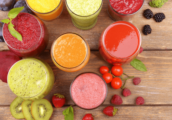 Healthy Choices: Detox Drinks and Salads