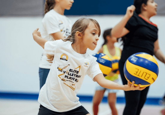 Volleyball Classes for Kids - Ages: 6-13 (Mirdif)