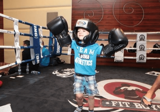 Boxing Lessons for Kids - Ages: 6-15 (The Palm)