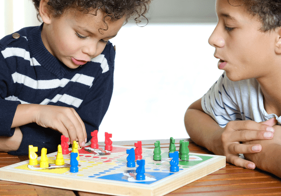 Brain Development with Board Games - Ages: 7-14