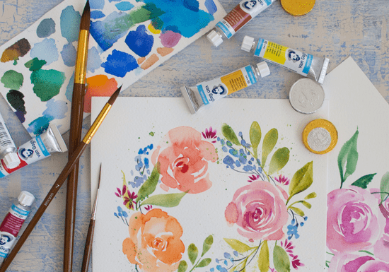 Easy Floral Watercolor Workshop
